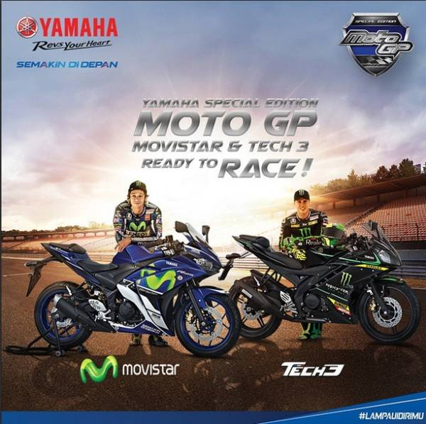 Limited Edition Yamaha YZF-R15 and YZF-R25 - 3