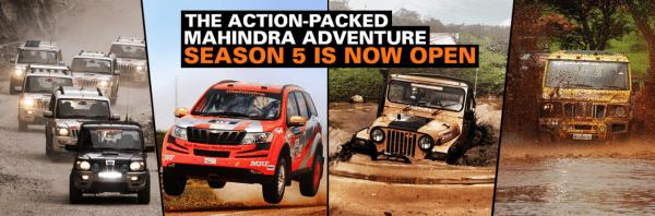Mahindra Adventure Season 5 calendar - 1