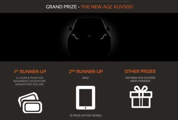 Mahindra New Age XUV500 Contest - 2