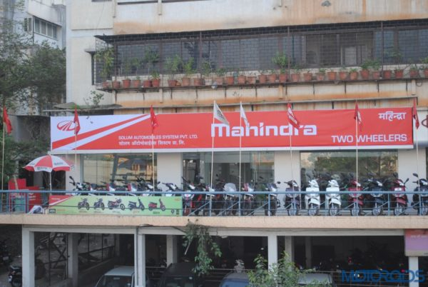 Mahindra Two Wheelers_New Pune Dealership_Inauguration (2)