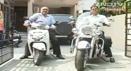 Man pays 8.1 lakh for VIP number on his Activa