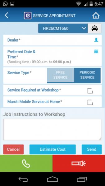 Maruti-Care-App-Service