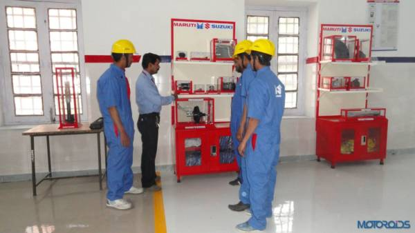 Maruti Suzuki training at ITI (3)