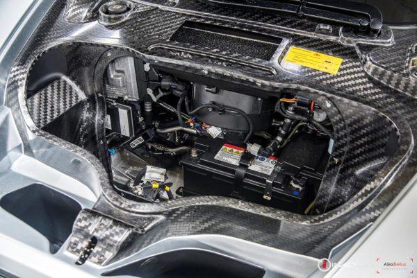 Mclaren P1 battery compartment