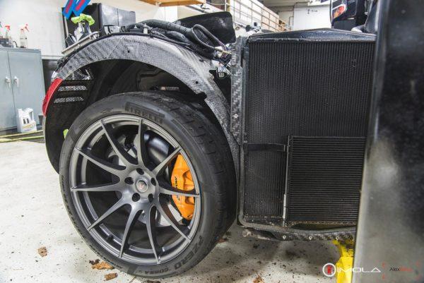 Mclaren P1 rear wheel