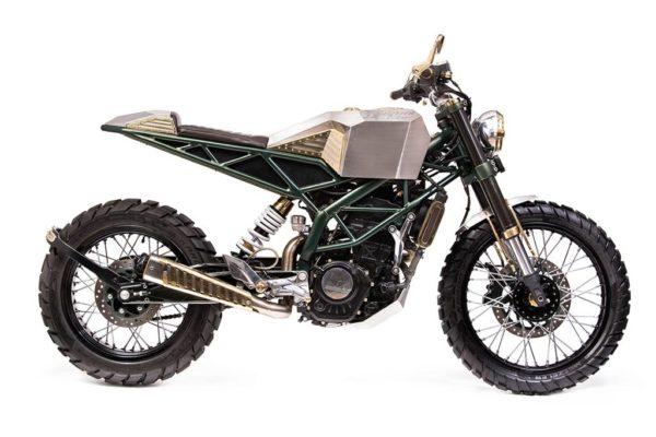 Mean Green Customs - KTM Duke - 2