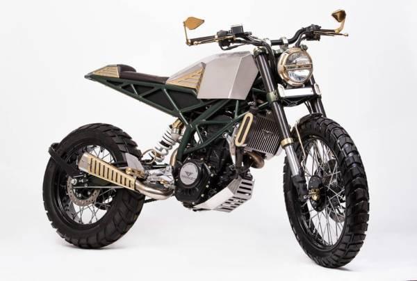 Mean Green Customs - KTM Duke - 3