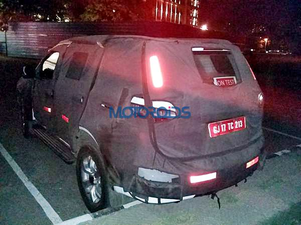 New 2015 chevrolet Trailblazer India rear spy image (7)