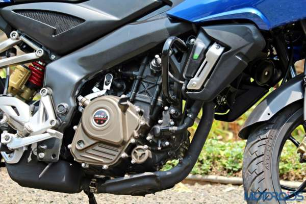 New Bajaj Pulsar AS150-AS200 Review - AS200 - Details - Engine
