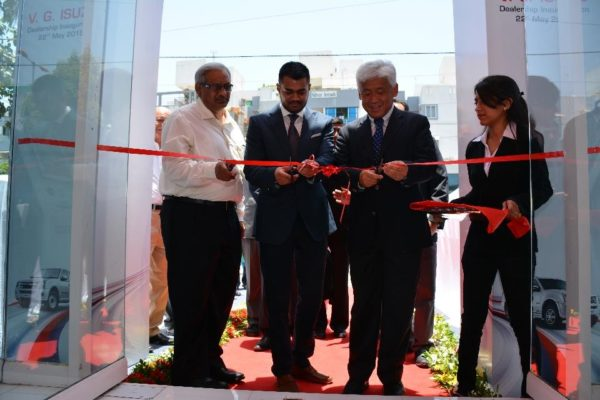 New Isuzu Dealership - Vadodara market (3)