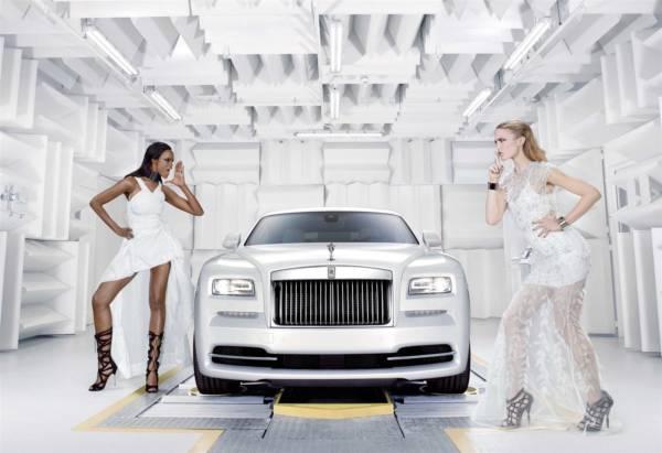 Rolls Royce Wraith Inspired by Fashion