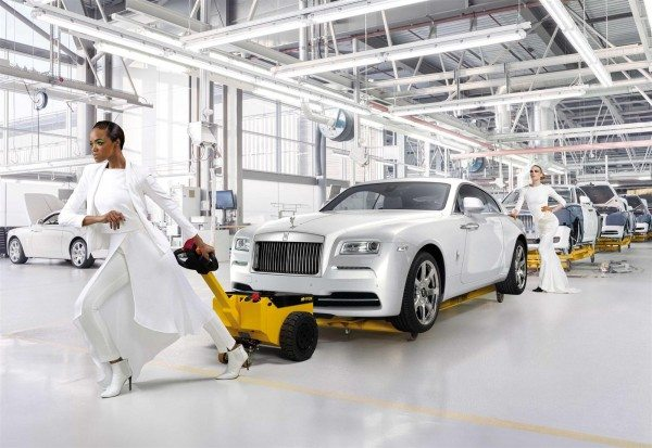 Rolls Royce Wraith Inspired by Fashion Limited Edition