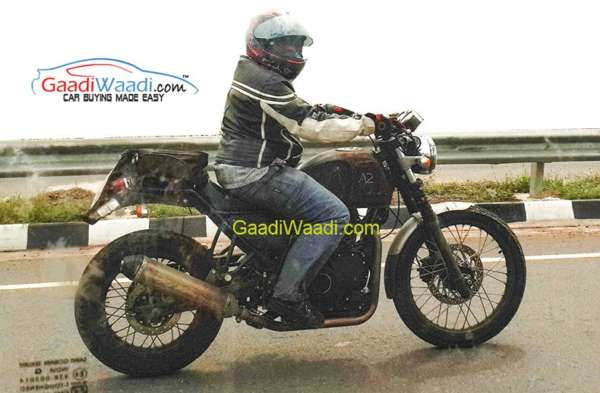 Royal Enfield Himalayan - Spied - 1