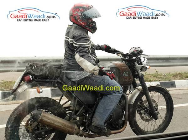 Royal Enfield Himalayan - Spied - 2