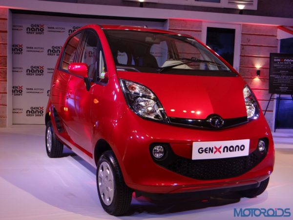 Tata Nano GenX India Launch (1)