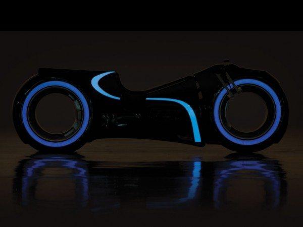 Tron lightcycle lights