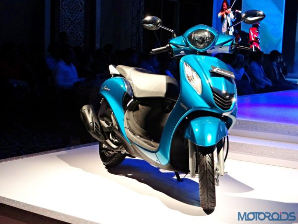 Yamaha Fascino - India Launch Event (42)