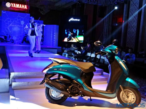 Yamaha Fascino - India Launch Event (56)