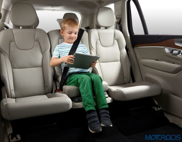 Integrated Booster Cushion (with child)