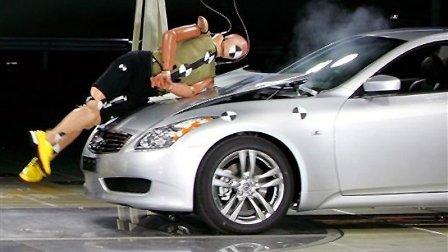Airbags In Cars Crash Test