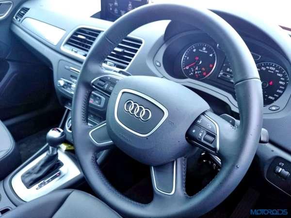 2015 Audi Q3 35 TDI Quattro steering