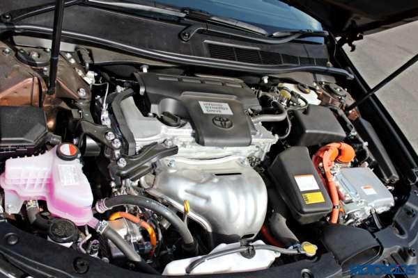 2015 Toyota Camry Hybrid engine