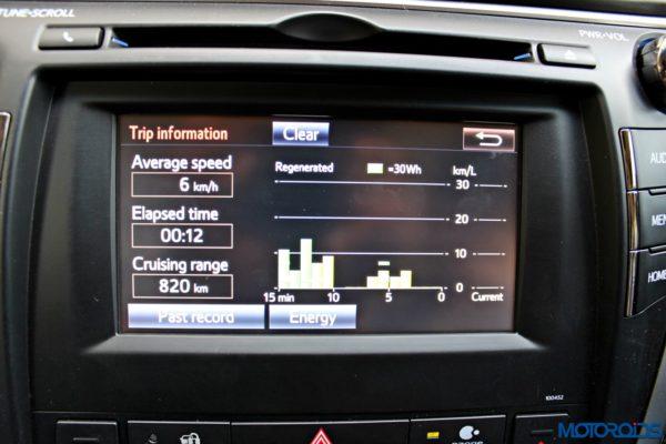 2015 Toyota Camry Hybrid infotainment screen (6)