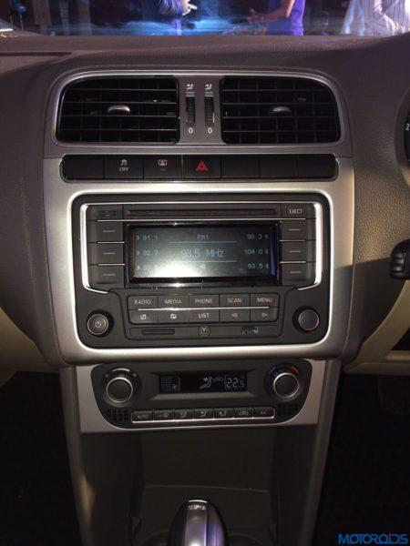 2015 Volkswagen Vento facelift launch interior (1)