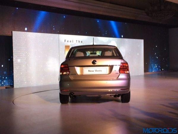 2015 Volkswagen Vento facelift launch (rear)