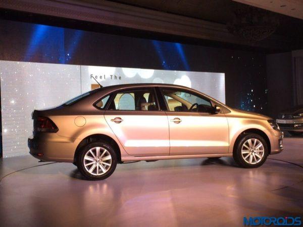 2015 Volkswagen Vento facelift launch (side) (2)