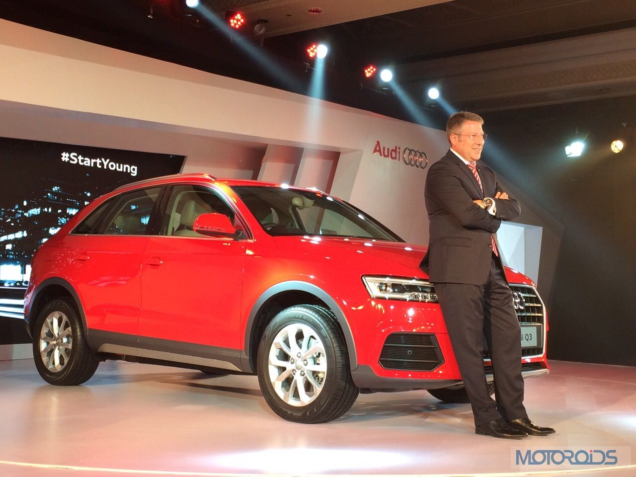 Live From the launch: 2015 Audi Q3 Facelift Priced Rs 28.99 lakh – images, and all the details