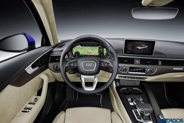 2016 Audi A4 dashboard