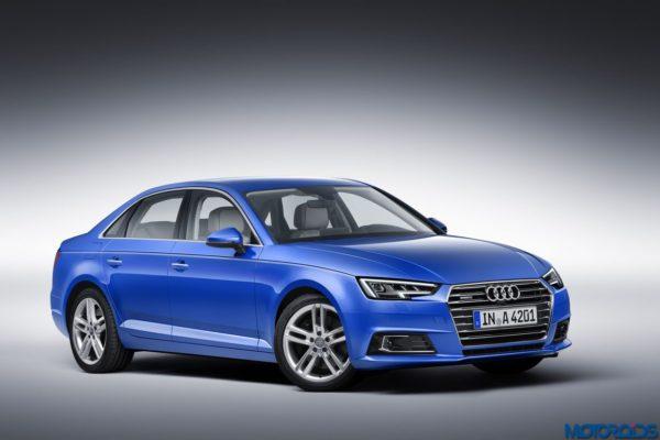 2016 Audi A4 side