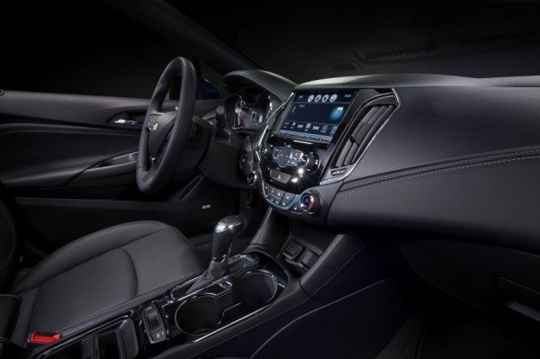 2016 Chevrolet Cruze dashboard (1)