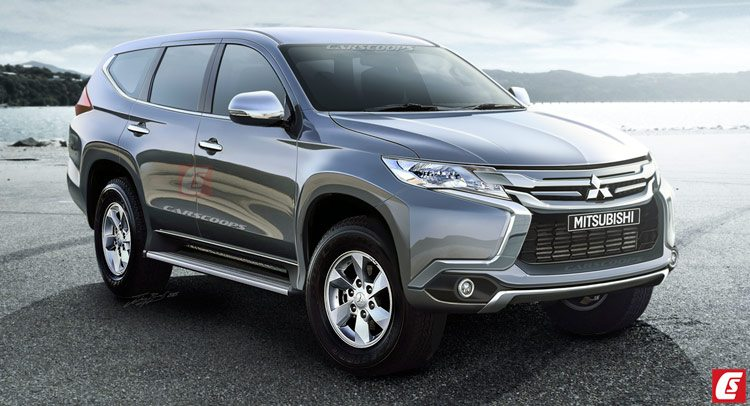 All-new 2016 Mitsubishi Pajero Sport rendered, India launch likely in 2017 | Motoroids