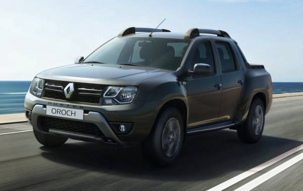 2016 Renault Duster Oroch front (2)