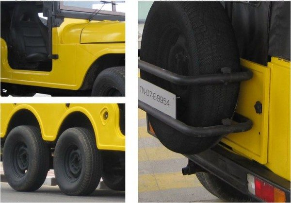 Jeep 6x6 Yellow Fox (2)