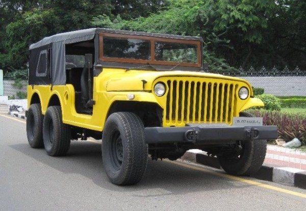 Jeep 6x6 Yellow Fox (1)