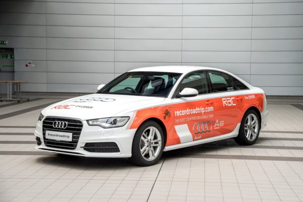 Audi A6 TDI Ultra World Record (2)