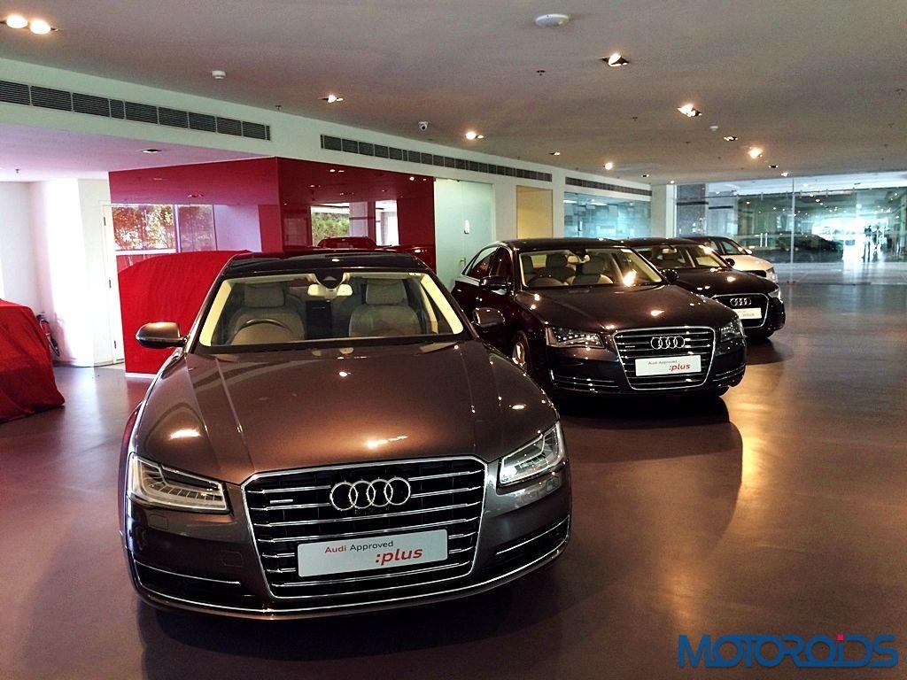 Audi Approved Plus; Audi A8L (6)