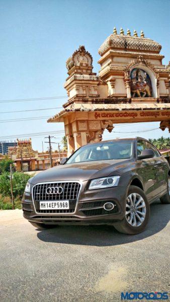 Audi Q5 bappanadu temple