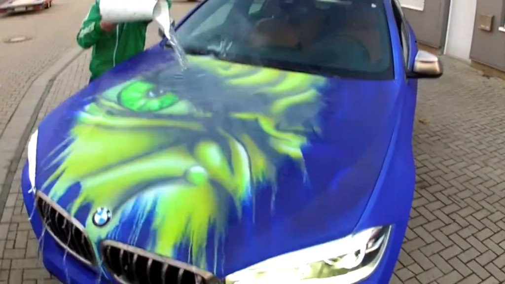 BMW X6 Magic Paint