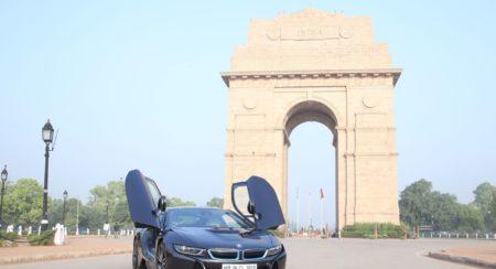 BMW i8 celebrates World Environment Day - Fame India Eco Drive (1)