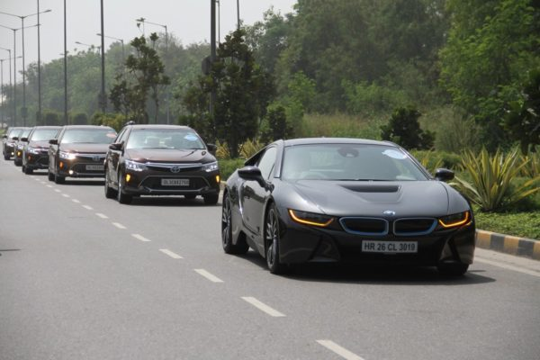 BMW i8 celebrates World Environment Day - Fame India Eco Drive (2)