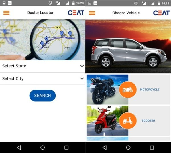 CEAT Mobile App - 2 Merged