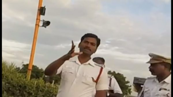 Chennai riders stripped by police (2)
