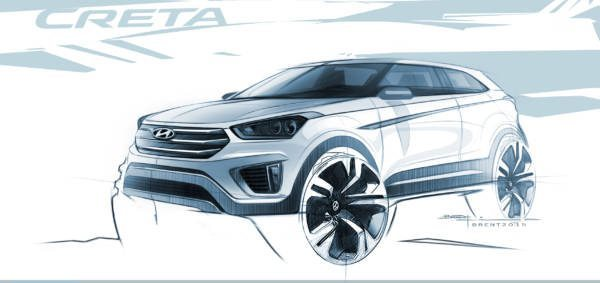 Hyundai Creta rendering (1)