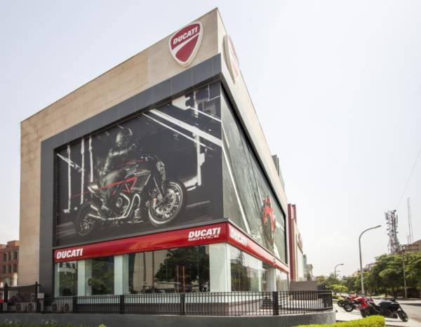 Ducati Delhi Showroom - Largest Ducati Store in the World