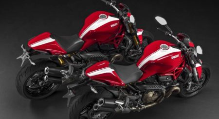Ducati Monster Stripe editions