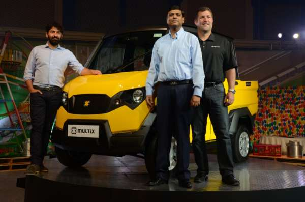 Eicher-Polaris Multix launched